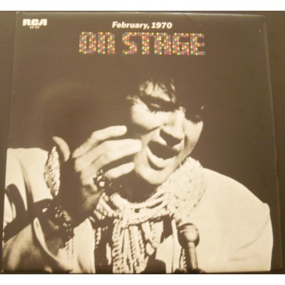 Elvis Presley – On Stage-February, 1970 JAPAN