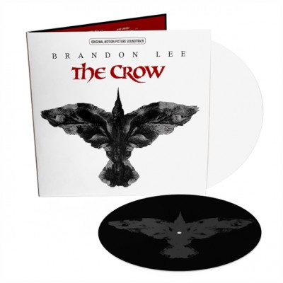 Various ‎– The Crow (Original Motion Picture Soundtrack) 2LP White Black Limited Edition Record Store Day 2019