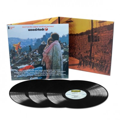 Various ‎– Woodstock - Mono PA Version 3LP Gatefold Mono PA Version Limited Edition Record Store Day 2019