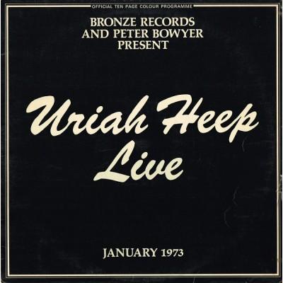 Uriah Heep – Uriah Heep Live 2LP + Booklet