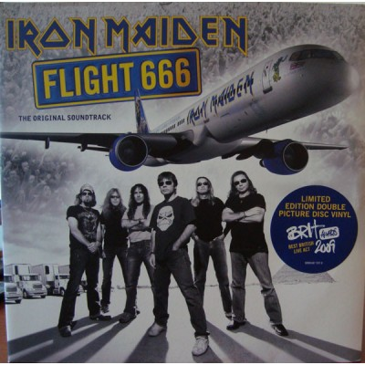 Iron Maiden - Flight 666 2PicDiscs