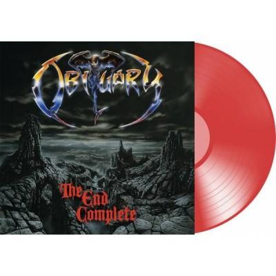 Obituary – The End Complete LP Red Vinyl Ltd Ed
