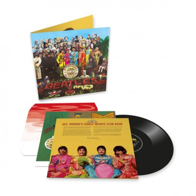 The Beatles ‎– Sgt Peppers Lonely Hearts Club Band LP 2017 Reissue Gatefold Anniversary Edition