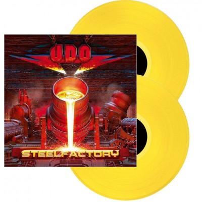 U.D.O. - Steelfactory 2LP 2018 NEW Ltd Ed + 2 Bonus Tracks