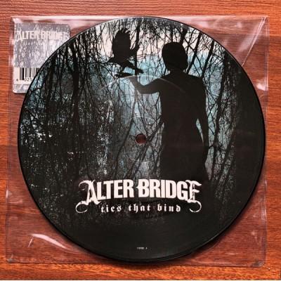 Alter Bridge – Ties That Bind 7' Picture Disc RARE