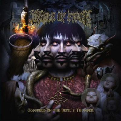 Cradle Of Filth - Godspeed On The Devil's Thunder 2LP