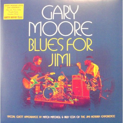 Gary Moore - Blues For Jimi 2LP