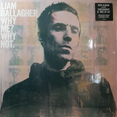 Liam Gallagher (Oasis) ‎– Why Me? Why Not. LP NEW Limited Coke Bottle Green Vinyl 2019