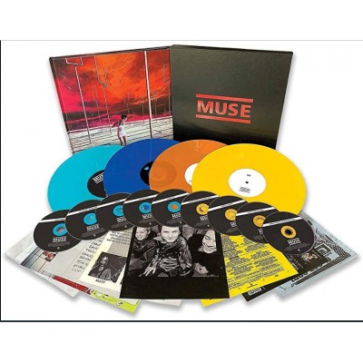 Muse ‎– Origin Of Muse 4LP+ 9CD Ltd Ed NEW 2019 Box Set Individually Coloured Vinyl ПРЕДЗАКАЗ, поступление в магазин 13.12
