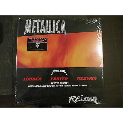 Metallica - Reoad BOX 4 LP