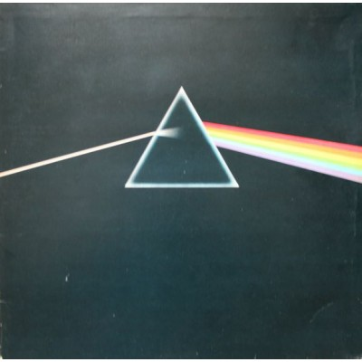 Pink Floyd - The Dark Side Of The Moon LP Gatefold JAPAN + 2 Posters ++ Booklet