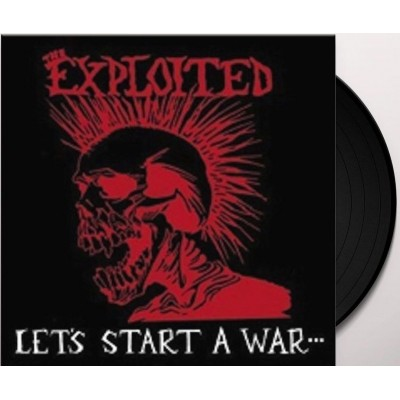 The Exploited – Lets Start A War Said Maggie One Day LP 2014 Reissue