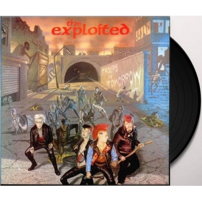 The Exploited ‎– Troops Of Tomorrow 2LP Gatefold 2017 Reissue