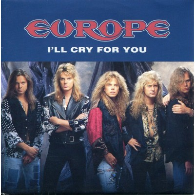 Europe – I'll Cry For You - MAXI