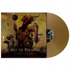 Act Of Defiance - Old Scars, New Wounds LP Gold Vinyl Ltd Ed 100 copies