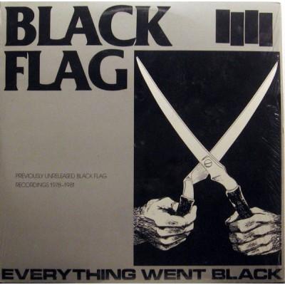 Black Flag – Everything Went Black 2LP