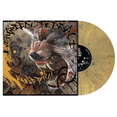 Evergreen Terrace - Wolfbiker LP Orange Brown Marbled Ltd Ed 200 copies