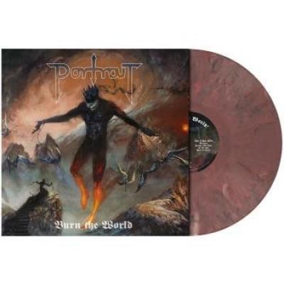 Portrait - Burn The World LP Pastel Rose Marbled Ltd Ed 300 copies