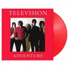 Television - Adventure LP Red Vinyl 2019 Reissue