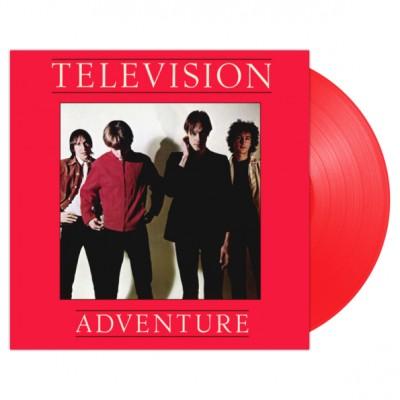 Television - Adventure LP Red Vinyl 2019 Reissue