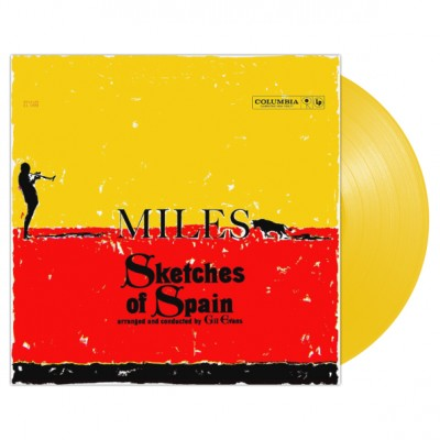 Miles Davis – Sketches Of Spain LP Ltd Ed Yellow Vinyl 2019 Reissue