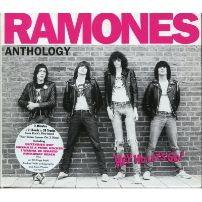 Ramones ‎– Anthology (Hey Ho Let's Go!) 2 CD + BOOK