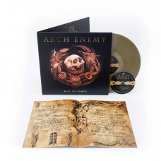 Arch Enemy - Will To Power LP+CD Gold Vinyl + 12 Page Booklet Ltd Ed Gatefold