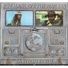 Bob Marley & The Wailers ‎–  Babylon By Bus 2LP + Poster