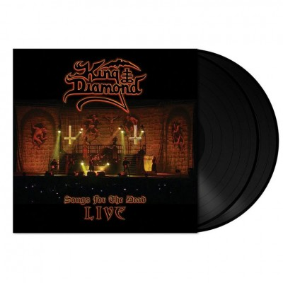 King Diamond ‎– Songs For The Dead Live 2LP Gatefold