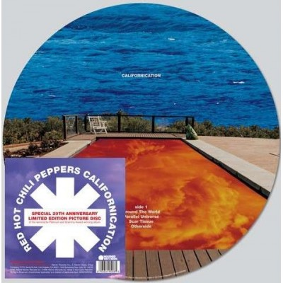Red Hot Chili Peppers ‎– Californication 2LP Picture Disc NEW 2019 Reissue Ltd Ed