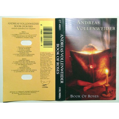 Кассета  Andreas Vollenweider ‎– Book Of Roses (Sixteen Episodes / Four Chapters)