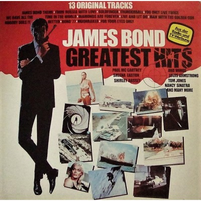 Various ‎– James Bond Greatest Hits