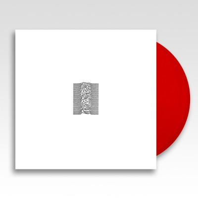 Joy Division – Unknown Pleasures LP NEW 2019 Reissue Red Vinyl Ltd Ed