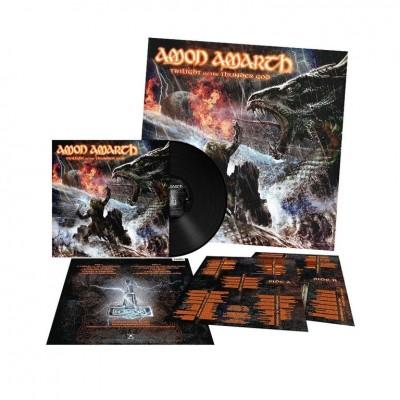 Amon Amarth – Twilight Of The Thunder God LP 2017 Reissue + Poster