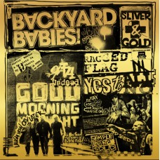 Backyard Babies - Silver And Gold LP+CD 2019 NEW Ltd Ed