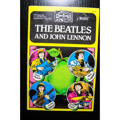 The Beatles and John Lennon комикс