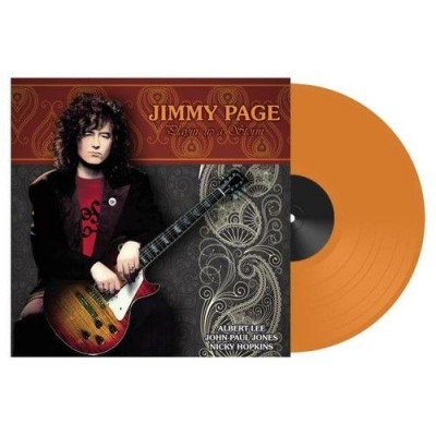 Jimmy Page – Playin Up A Storm LP Ltd Ed Orange Vinyl Record Store Day 2018 Release