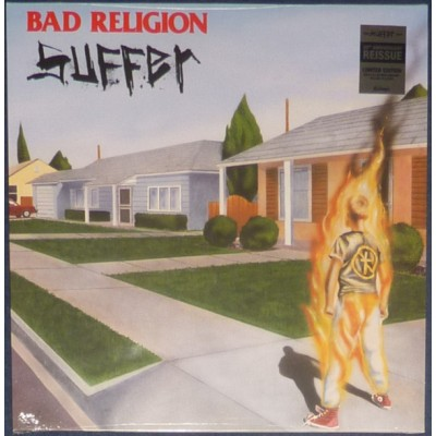 Bad Religion – Suffer LP Milky Clear With Red And Yellow Splatter Vinyl NEW 2018 Reissue