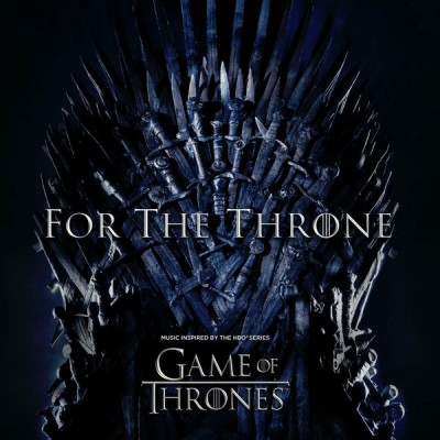 Various - For The Throne (Music Inspired by the HBO Series Game of Thrones) Soundtrack LP Grey Vinyl NEW 2019