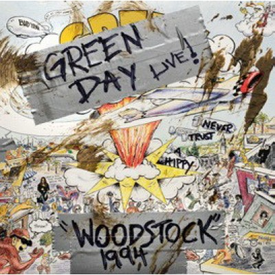 Green Day ‎– Live Woodstock 1994 LP Limited Edition Record Store Day 2019