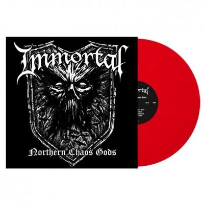 Immortal - Northern Chaos Gods LP 2018 NEW Red Vinyl Ltd Ed 300 Copies