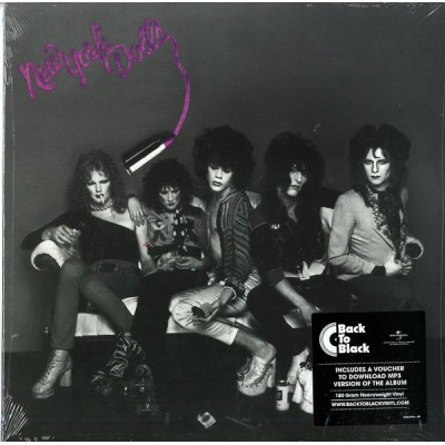 New York Dolls - New York Dolls LP 2017 Reissue