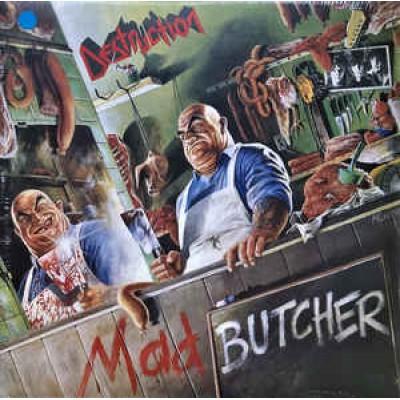 Destruction – Mad Butcher LP Green Vinyl Ltd Ed 500 copies 2017 Reissue