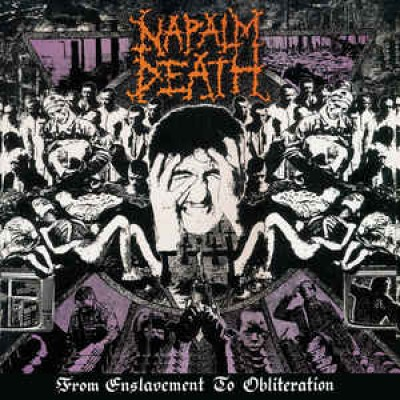 Napalm Death ‎– From Enslavement To Obliteration LP 2017 Reissue