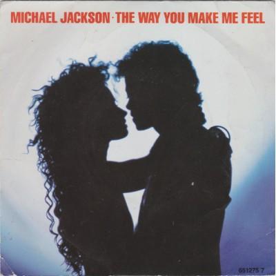 Michael Jackson - The Way You Make Me Feel 7''