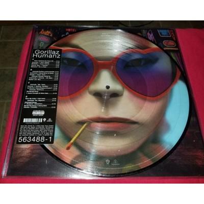 Gorillaz - Humanz 2LP Picture Disc Ltd Ed NEW 2019 Reissue
