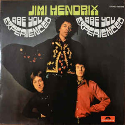 The Jimi Hendrix Experience - Are You Experienced LP Germany 1980 Reissue