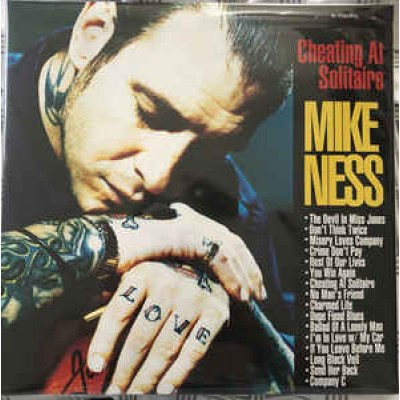 Mike Ness ( Social Distortion ) – Cheating At Solitaire 2LP 2018 Reussue Gatefold