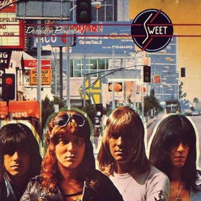 Sweet - Desolation Boulevard LP Gatefold + inlay 1974 Germany