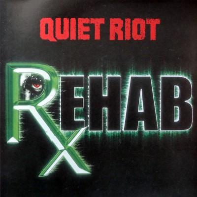 Quiet Riot – Rehab 2LP White Green splatter Ltd Ed 350 copies